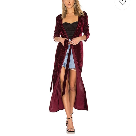 """Privacy Please Dresses & Skirts - Privacy Please """"Danielle"""" duster/dress in Oxblood"""